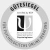 Gütesiegel für psychologische Onlineberatung